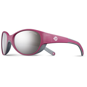 Julbo Kids 4-6Y Lily Spectron 3+ Sunglasses Fuchsia/Gray-Gray Flash Silver